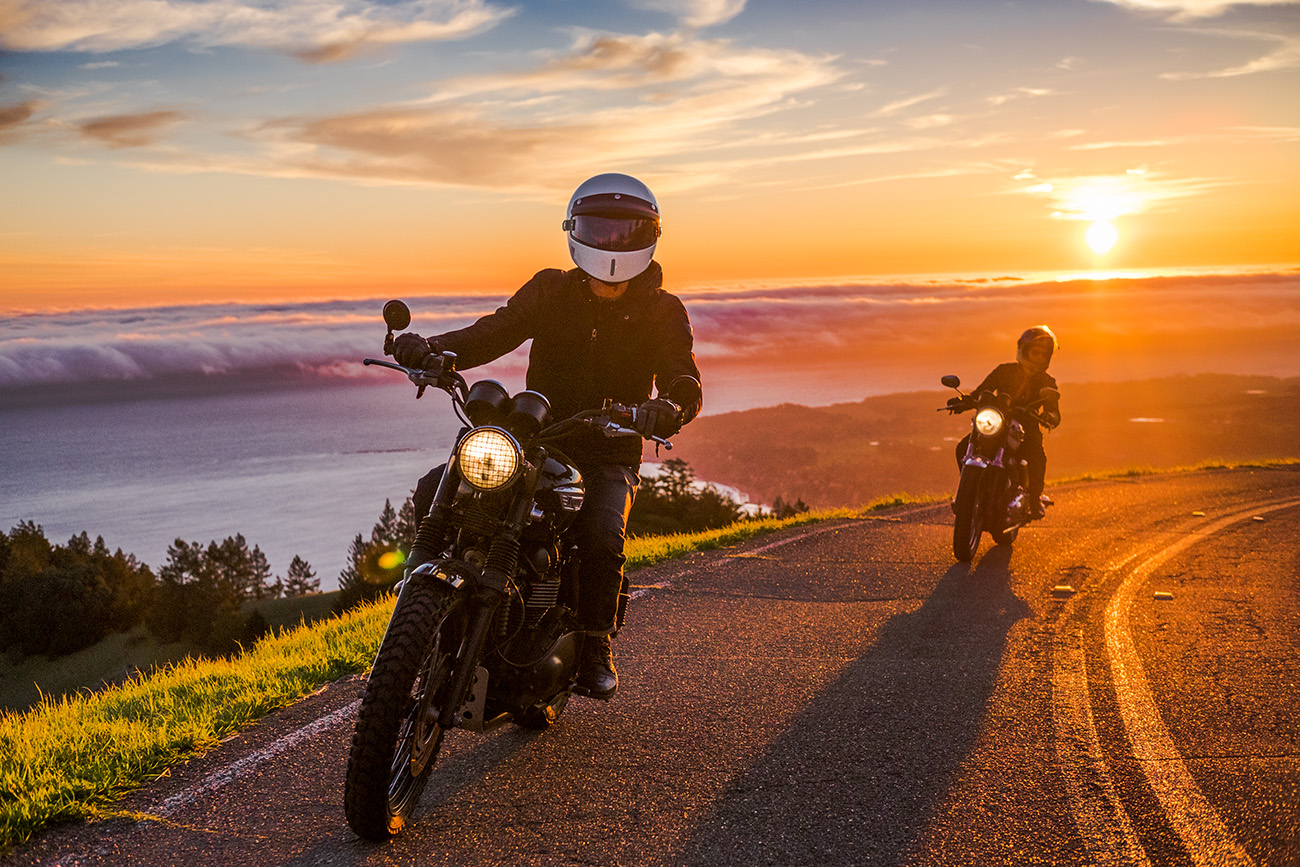 Mt. Tamalpais motorcycle riding | Photo by Alicia Mariah Elfving